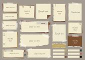 Paper frame set