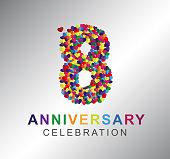 Paper Heart 8 years anniversary