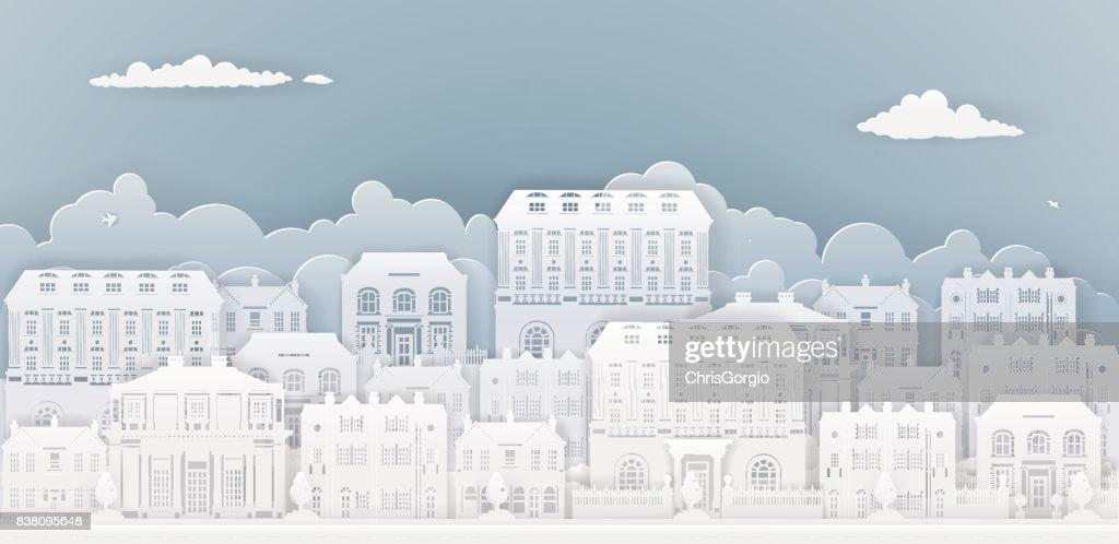 Paper Houses Row