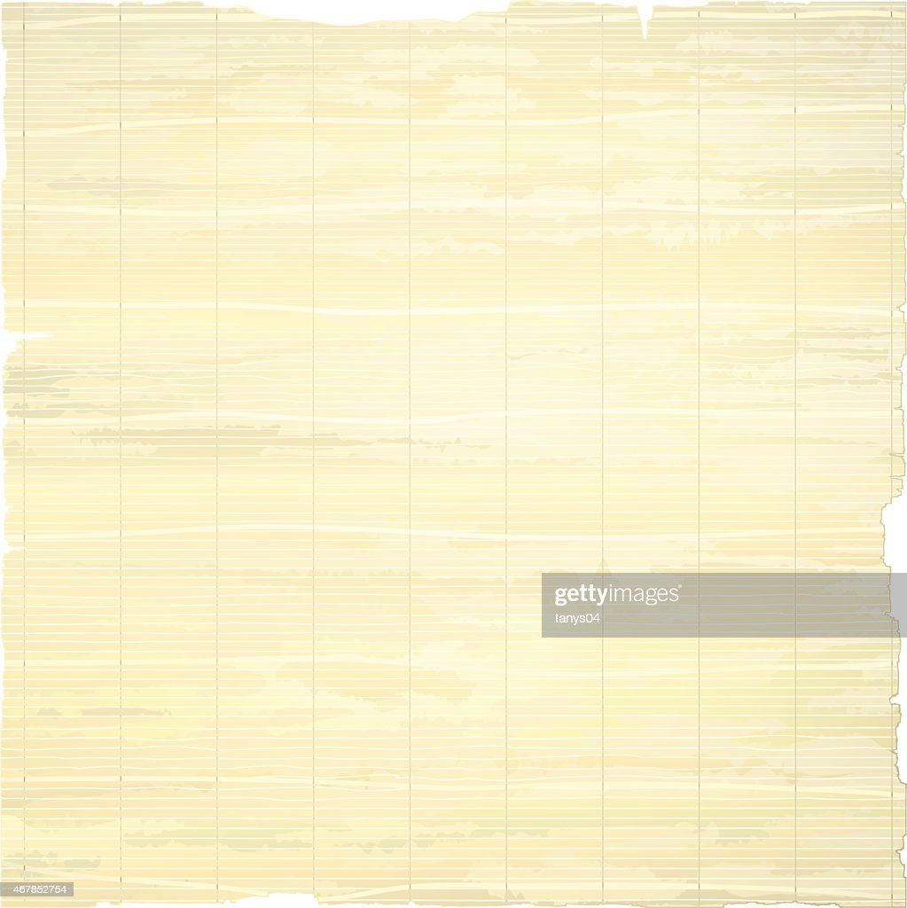 Paper Isolated on White Background.