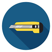 Paper knife icon.