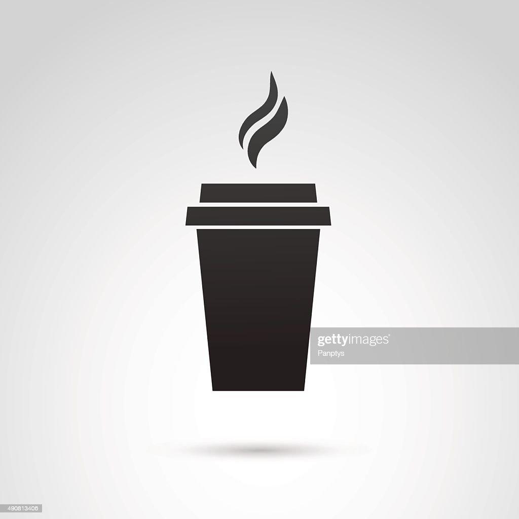 Paper mug icon.