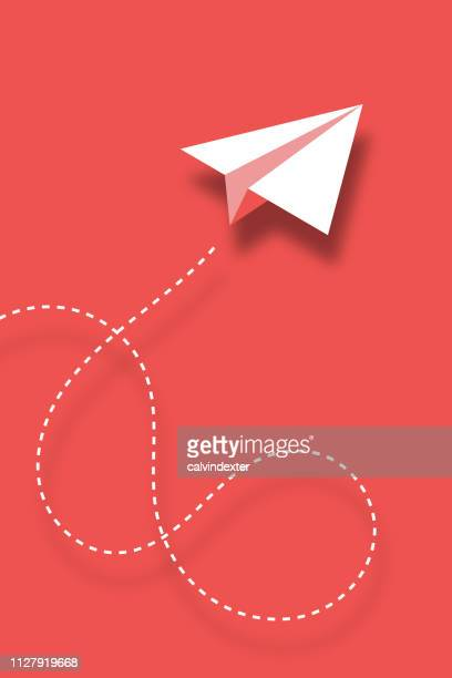 paper plane design background - e mail stock illustrations