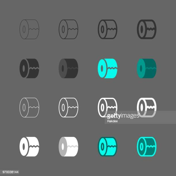 Paper Roll Icon - Multi Series