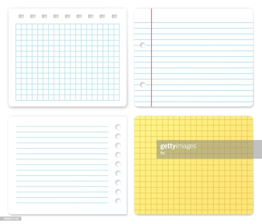Paper Samples with Copy Space : stock illustration