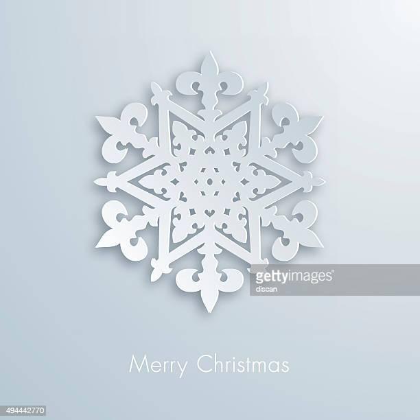 Paper snowflake - Illustration