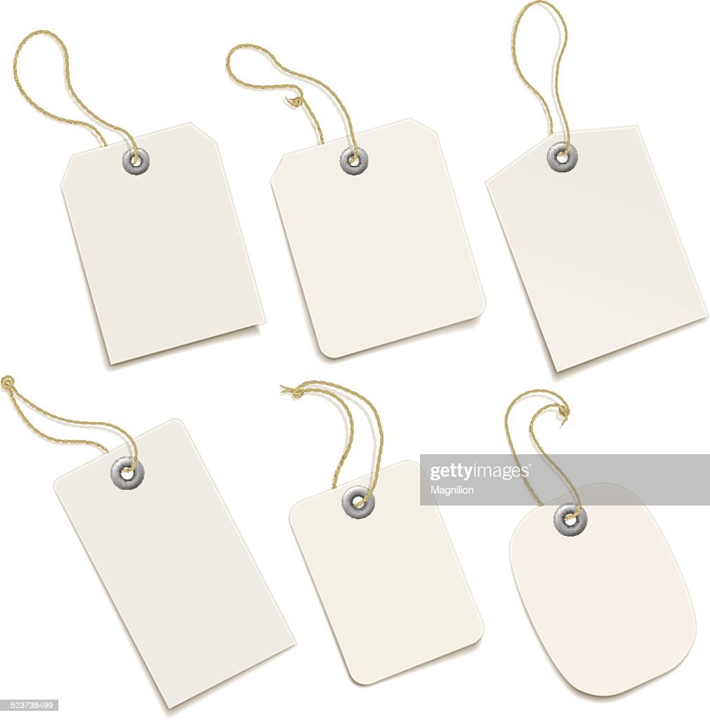 Paper Tags : stock illustration