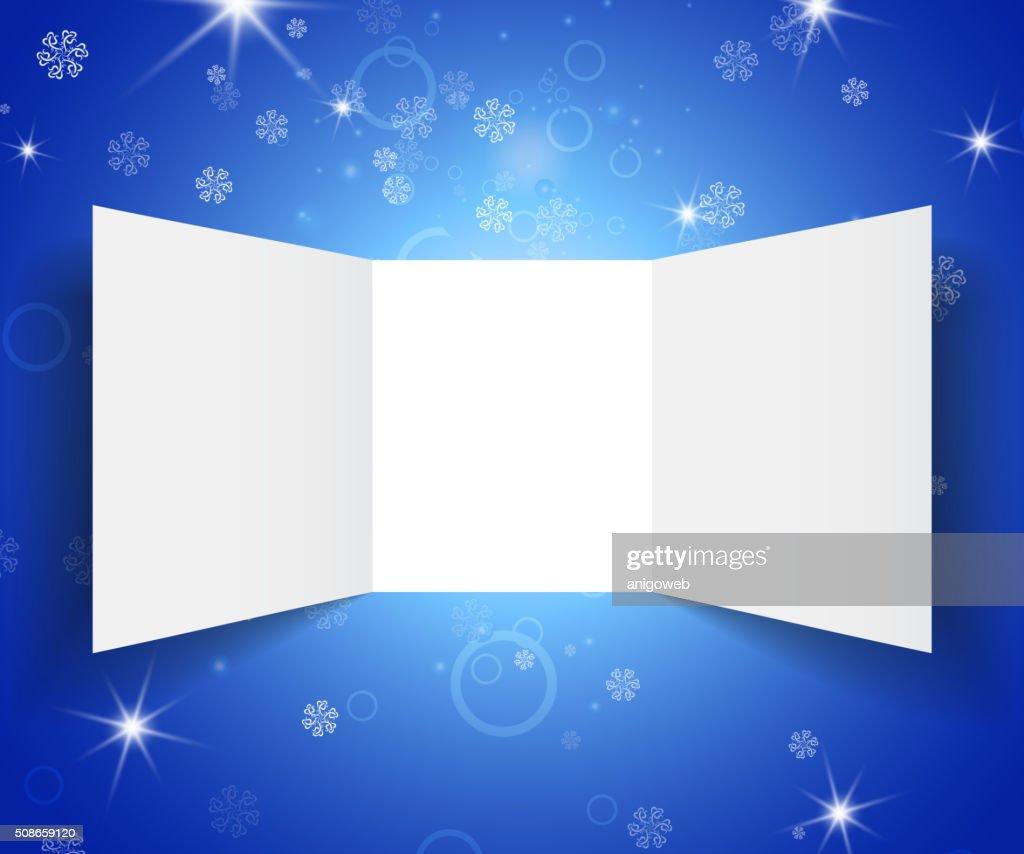 Paper template booklet : Vector Art