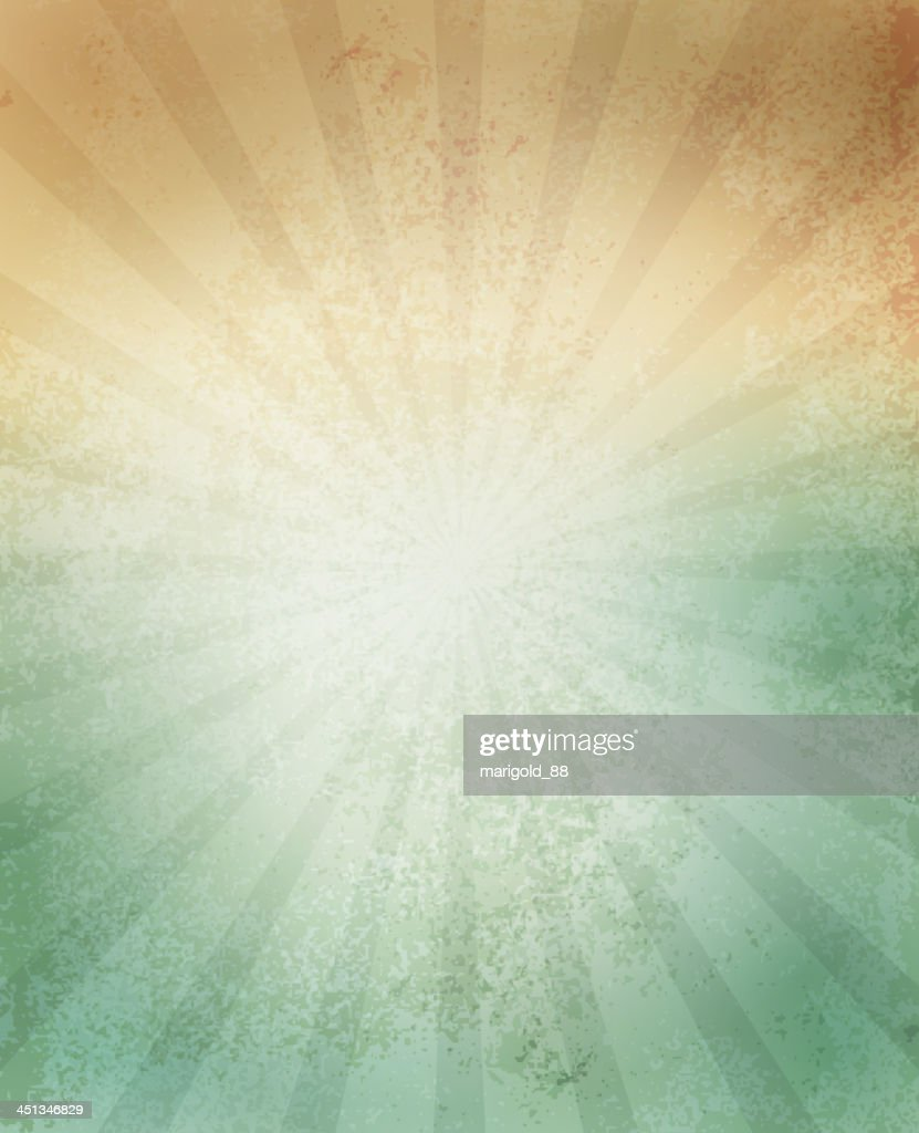 Paper texture background with lines in green and orange