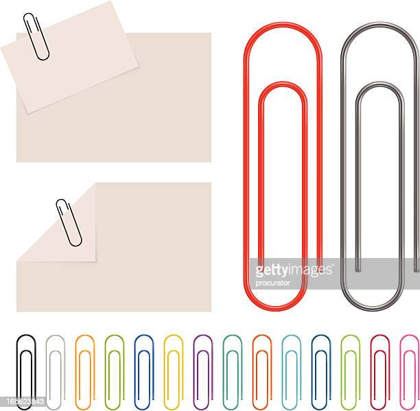 paperclip - paper clip stock illustrations, clip art, cartoons, & icons