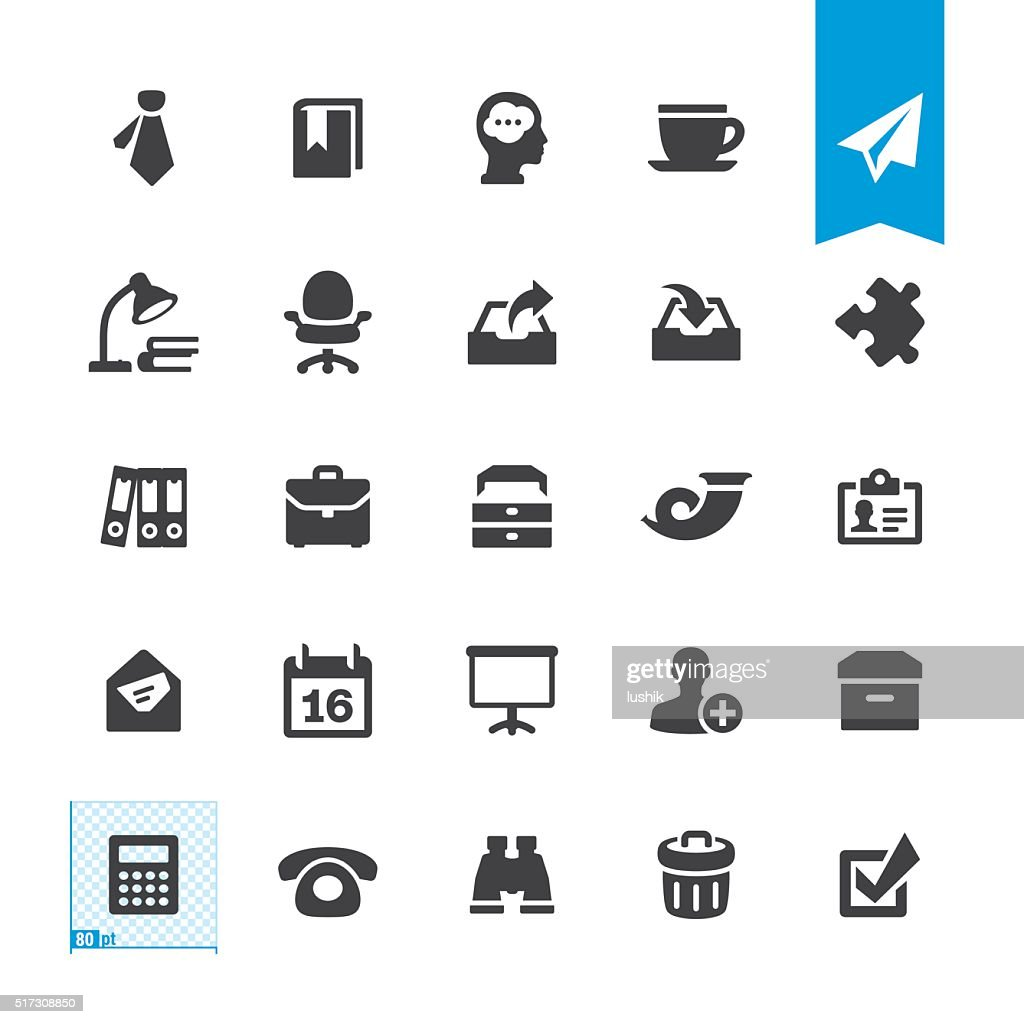 Paperwork & Office vector sign and icon : stock illustration