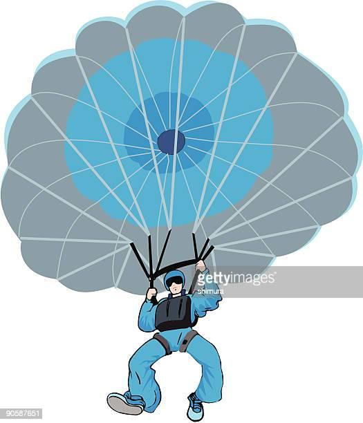 Parachute opened