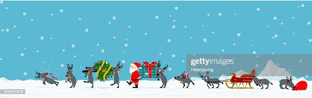 Parade of Santa