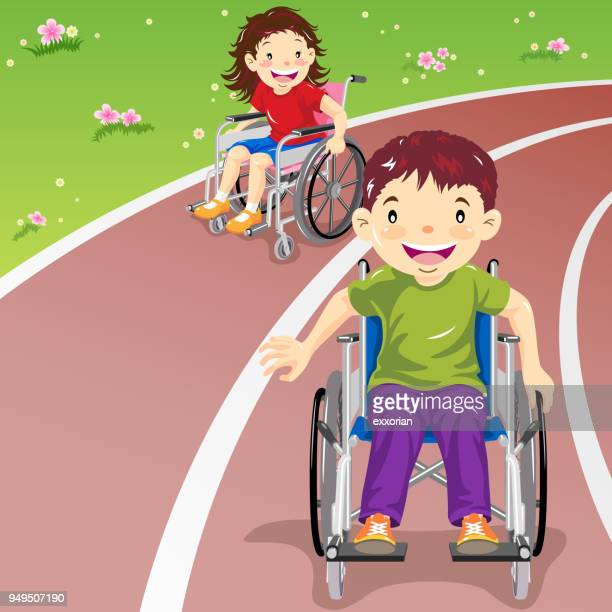 paralympic games - disability stock illustrations, clip art, cartoons, & icons