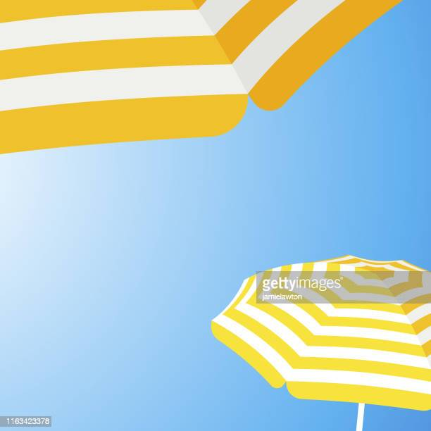 ilustraciones, imágenes clip art, dibujos animados e iconos de stock de paraguas de playa parasol fondo - pool party
