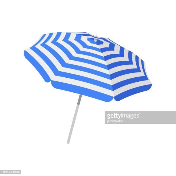 illustrations, cliparts, dessins animés et icônes de parasol parasol - bain de soleil