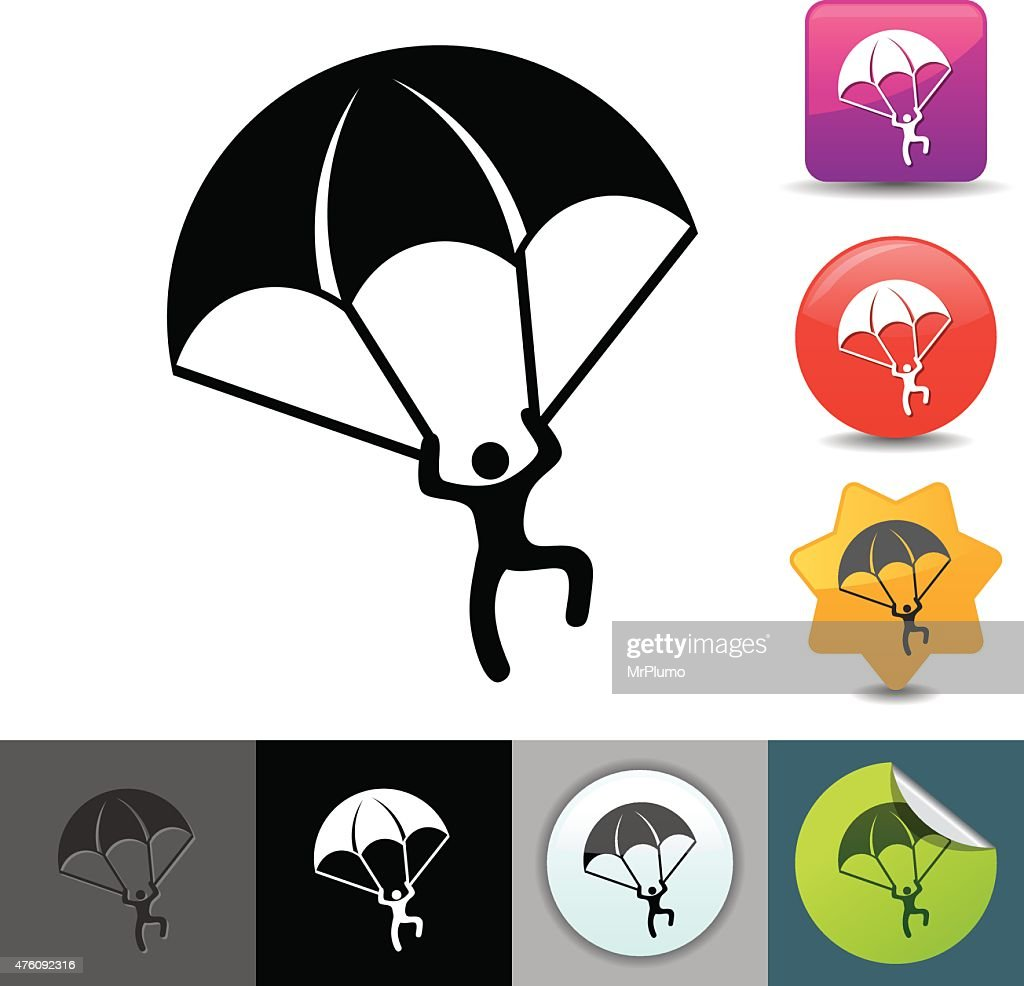 Paratrooper icon | solicosi series
