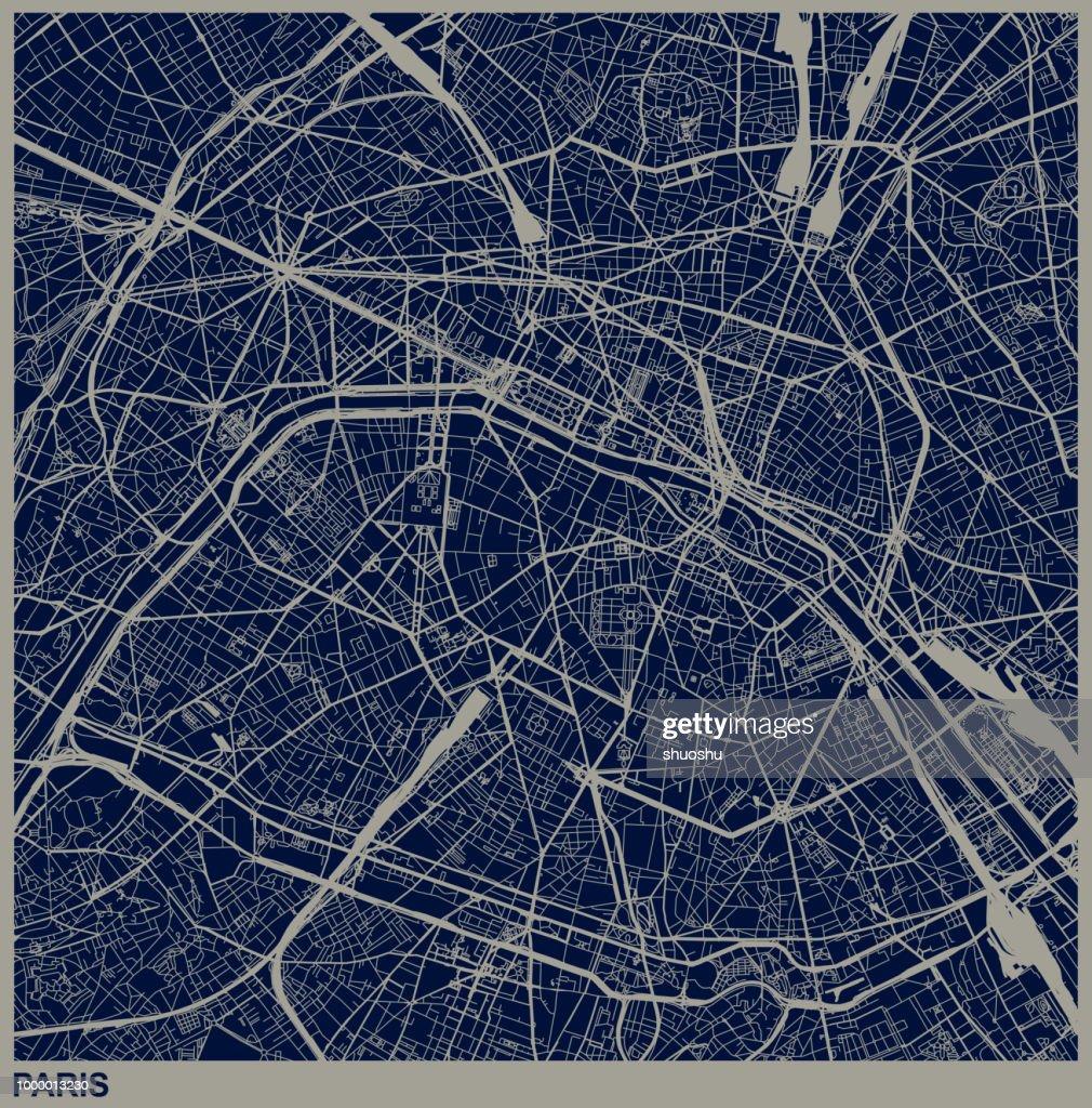 Parijs stad structuur illustratie : Stockillustraties