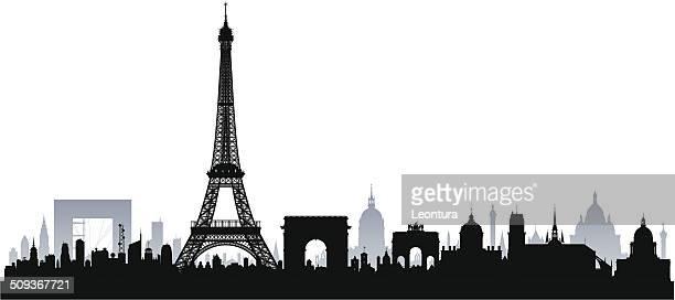 Paris (Complete, Separate, Detailed Buildings)