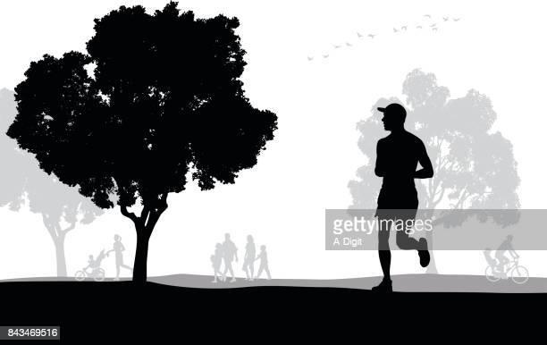 Park Jogging Exercise