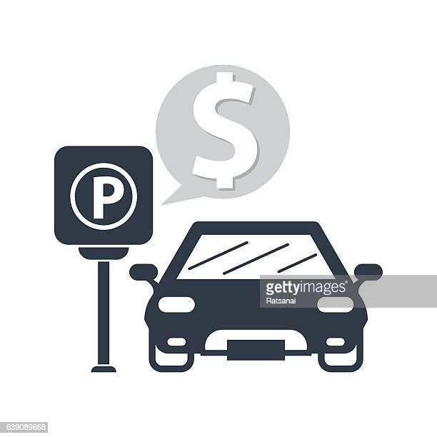 parking meter - parking meter stock illustrations
