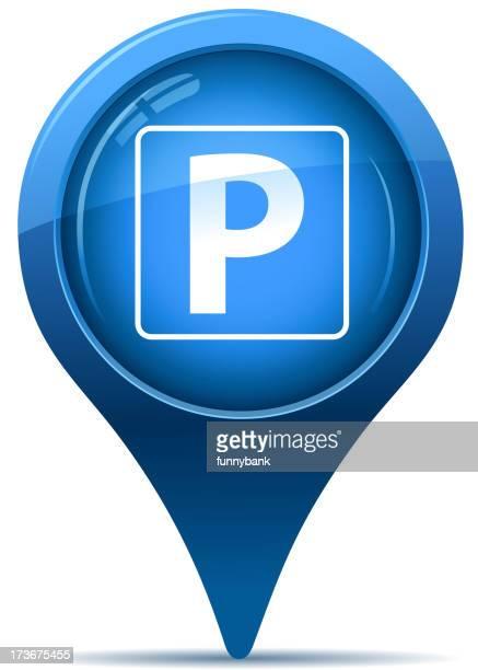 parking sign pointer