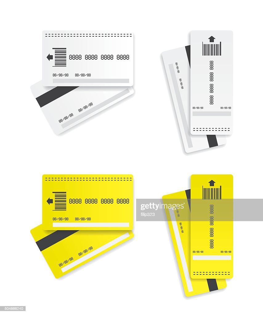 Parking tickets illustration