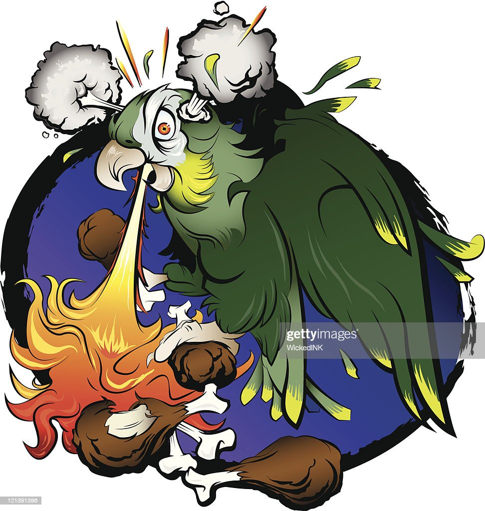 Buffalo Chicken Wings Stock Illustrations And Cartoons Wing Diagram Parrot Eating Hot