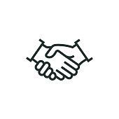 Partnership Line Icon
