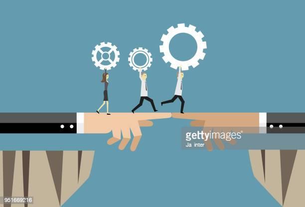 Partnership of business