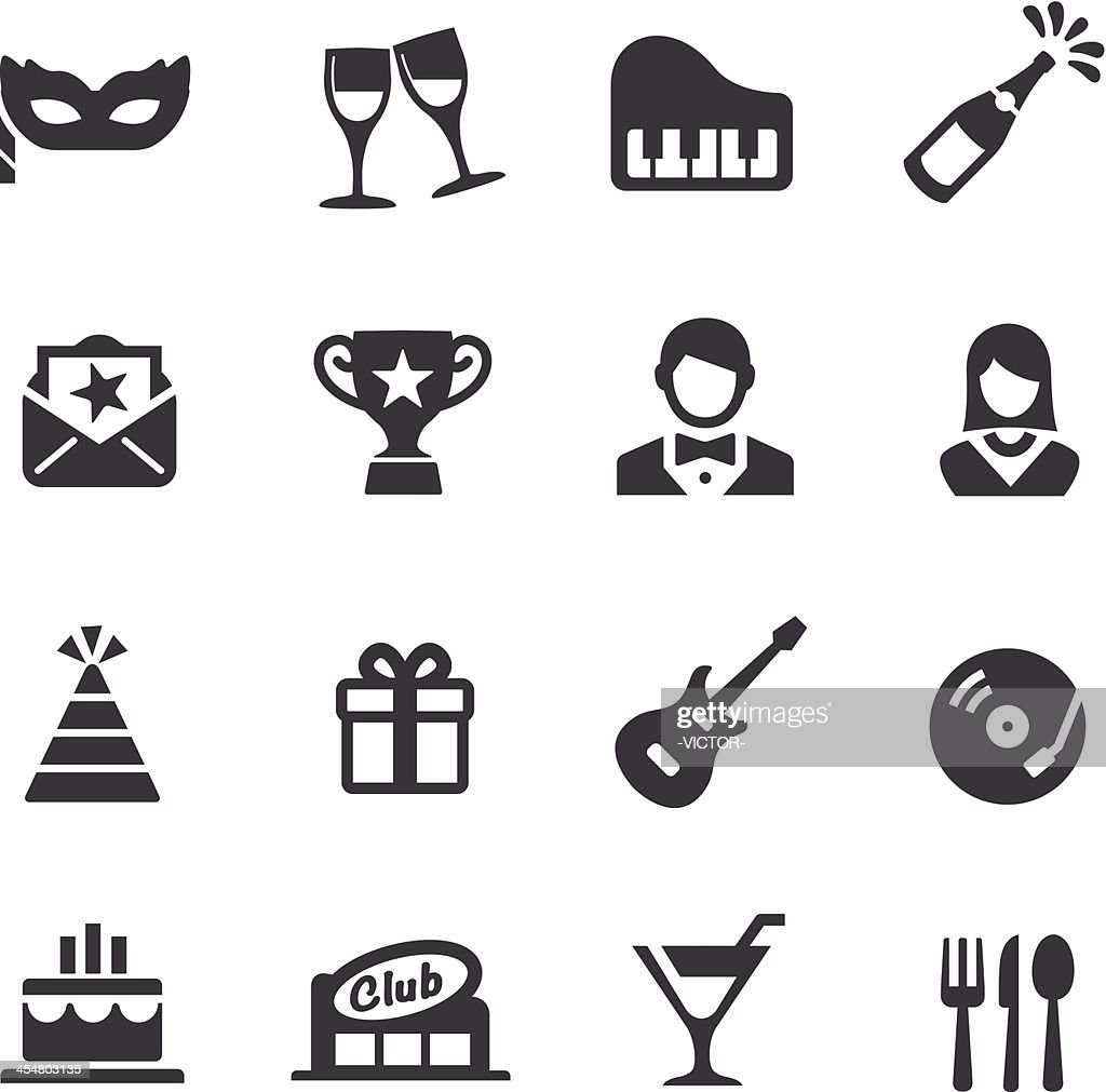 Party and Dinner Icons - Acme Series