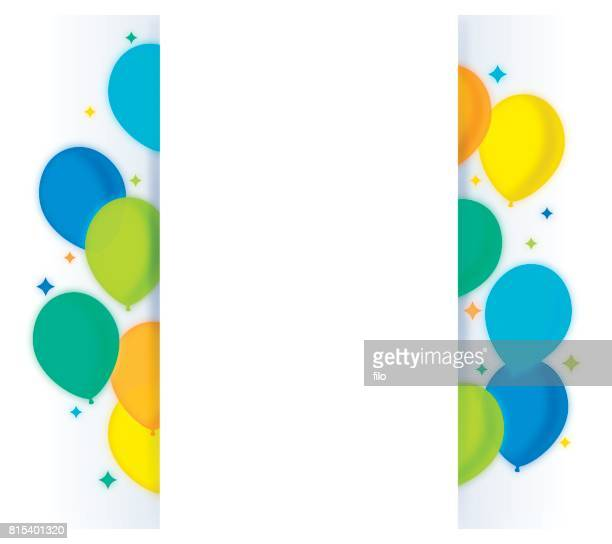 Party Balloons Message