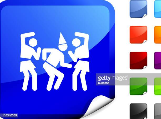 party, dancing internet royalty free vector art - stag night stock illustrations, clip art, cartoons, & icons
