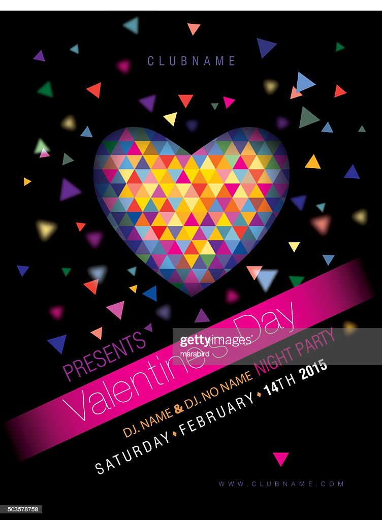 party design poster or flyer : Vector Art