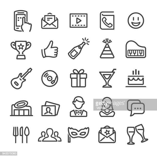 Party Icons - Smart Line Series