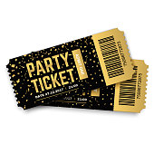 Party vector tickets.