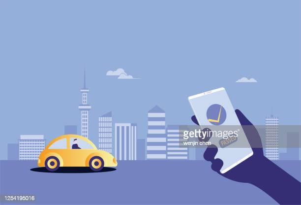 illustrations, cliparts, dessins animés et icônes de passé le test de permis de conduire - permis de conduire