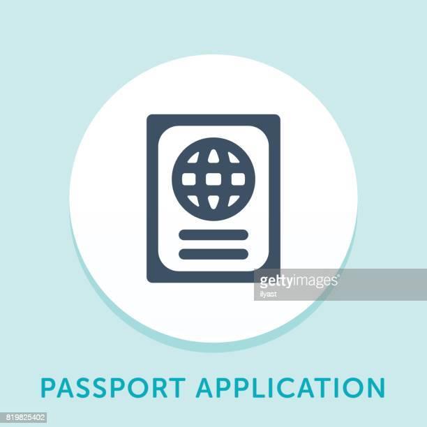 Passport Curve Icon