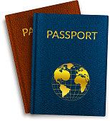 Passport ID document.