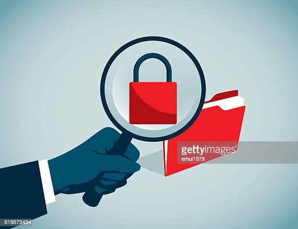 password - hidden stock illustrations, clip art, cartoons, & icons
