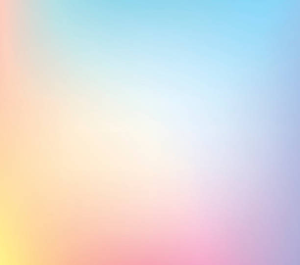pastel defocus multi color gradient stock vector background - pastel stock illustrations
