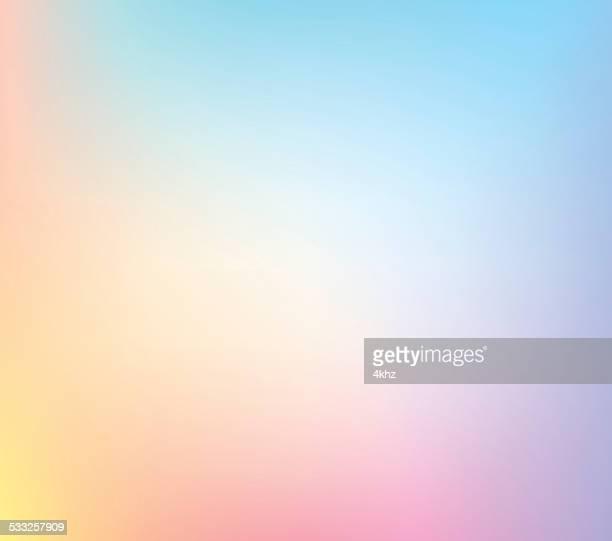 pastell defocus mehrfarbig stock-vektor-hintergrund mit farbverlauf - pastellfarbig stock-grafiken, -clipart, -cartoons und -symbole