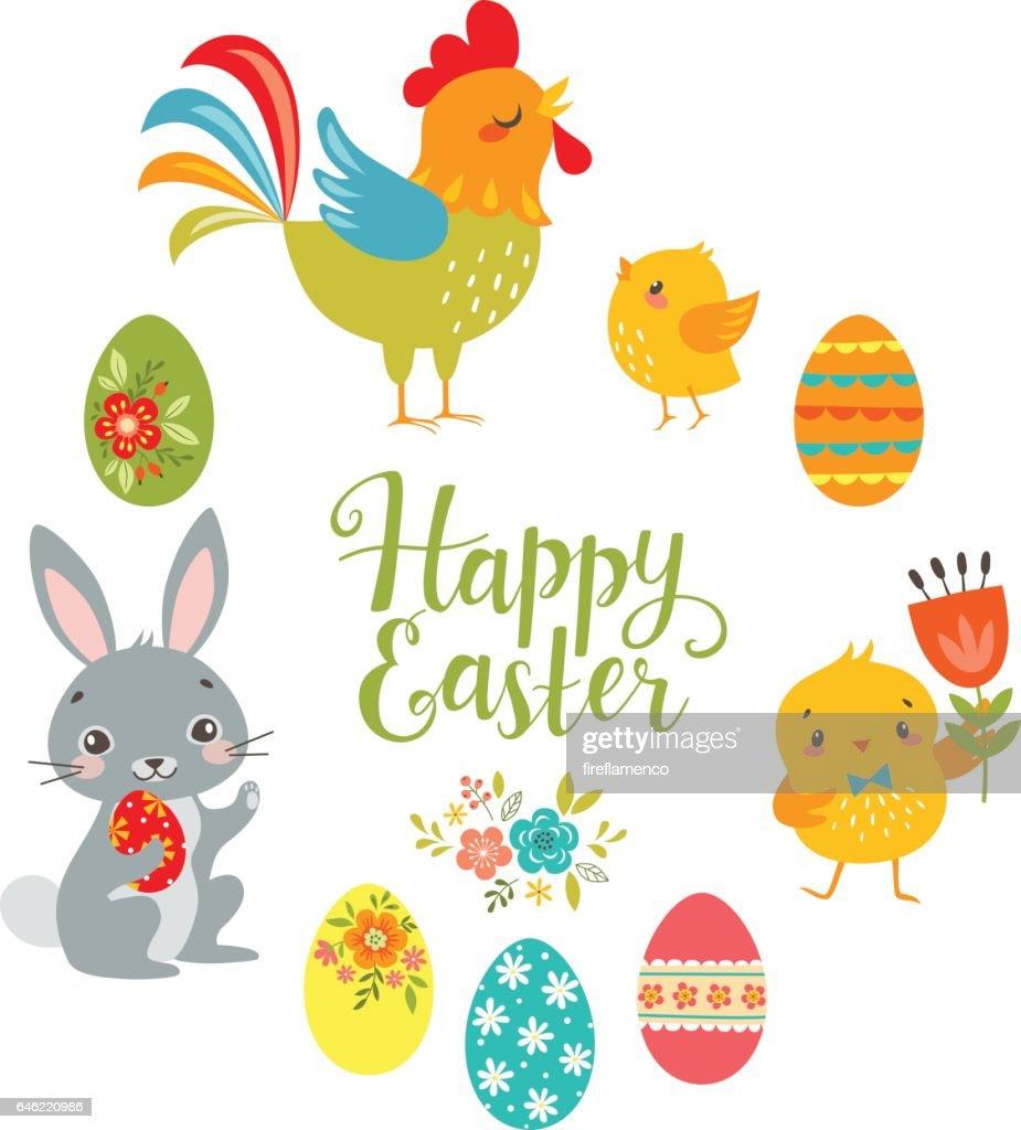 Pastel Easter pattern