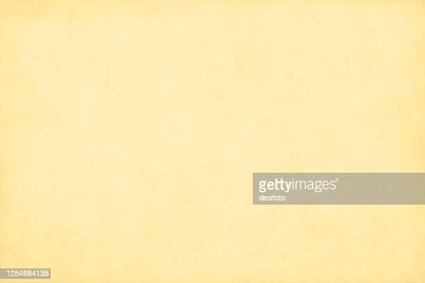 illustrazioni stock, clip art, cartoni animati e icone di tendenza di sfondo vettoriale grunge semplice di colore giallo chiaro pastello - color crema