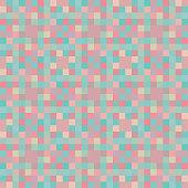 Pastel pixel design mosaic background