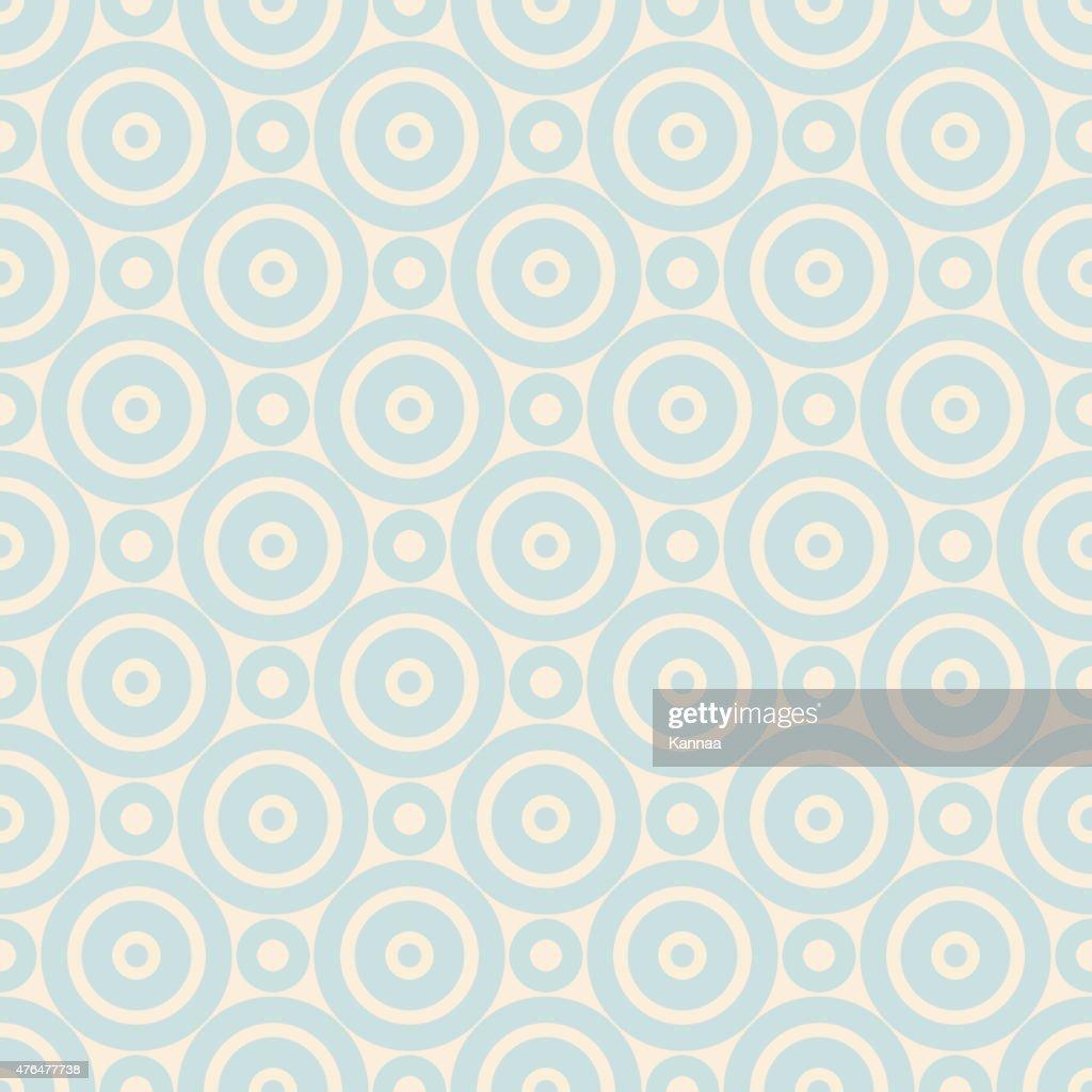 Pastel retro vector seamless pattern