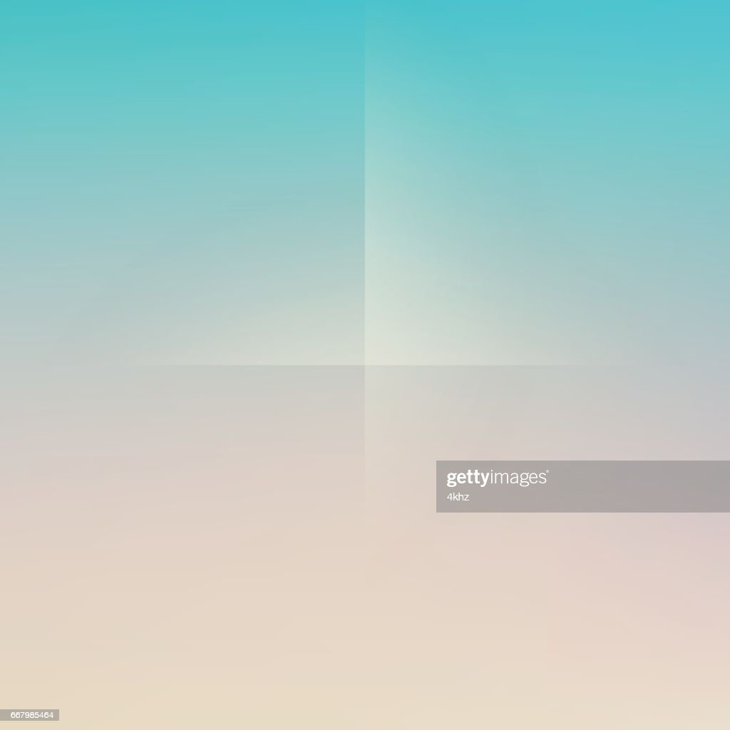 Pastel Yellow Green Minimal Fold Line Background Vector Art