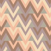Pastel zigzag background