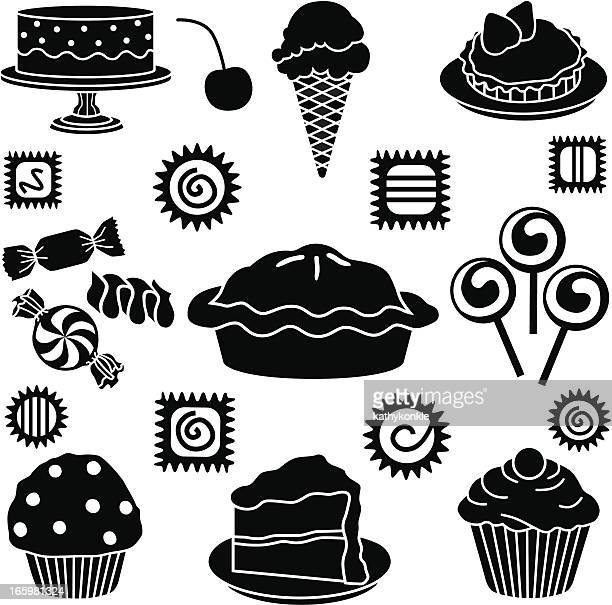 pastry shop icons