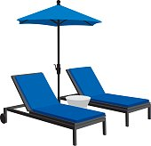 Patio Furniture Silhouettes
